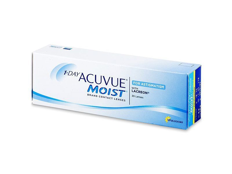 3f5f425c16 1 Day Acuvue Moist for Astigmatism (30 lentillas)