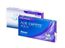 Air Optix Aqua Multifocal (6 lentillas)