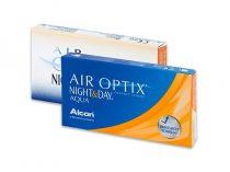 Air Optix Night & Day Aqua (6 lentillas)