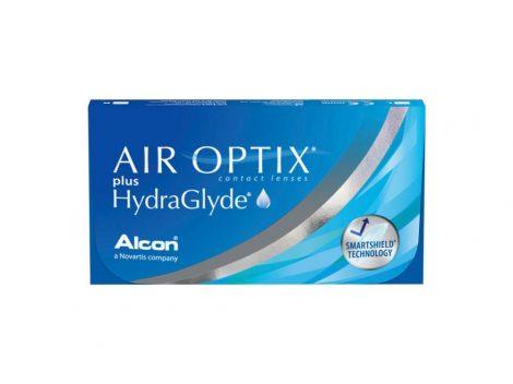 Air Optix Plus HydraGlyde (3 lentillas)