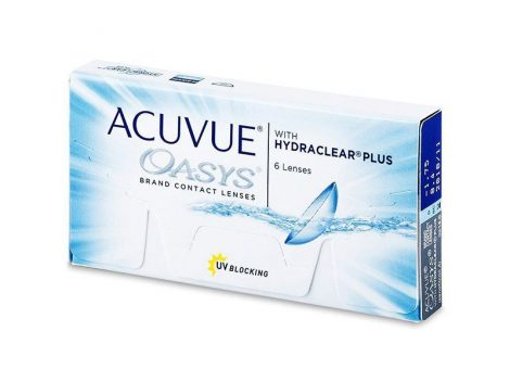 Acuvue Oasys with Hydraclear Plus (6 lentillas)