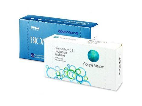 Biomedics 55 (6 lentillas)