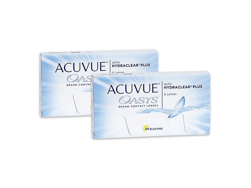 8a8f57eed9fc8 Pack Acuvue Oasys con Hydraclear Plus (6 lentillas) x 2 cajas ...
