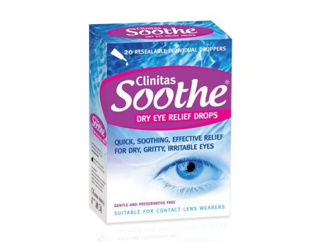 Clinitas Soothe Dry Eye Relief Drops (20 dosis individuales)
