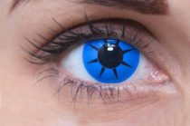 ColourVUE Crazy Blue Star (2 lentillas)