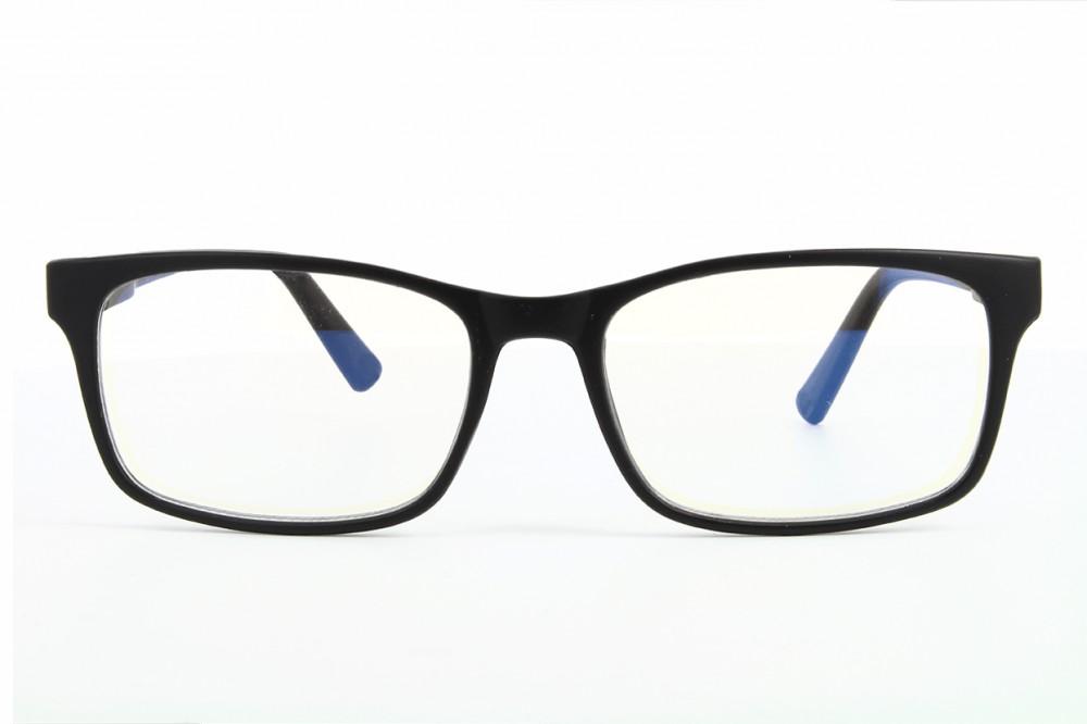9cc762935f Gafas para ordenador - filtro de luz azul - montura negra - BLF73