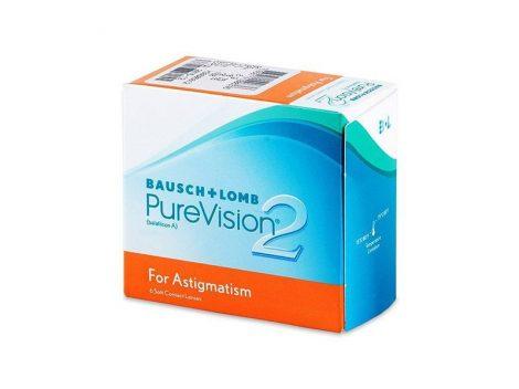 PureVision 2 Toric (6 lentillas)